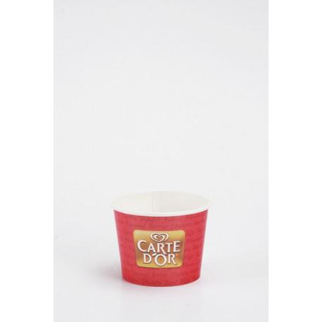 Pot à glace carton