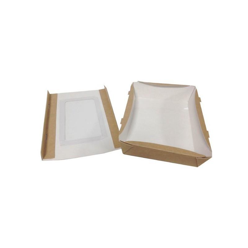 boite repas fen tre 1000ml bo tes carton alimentaire favry. Black Bedroom Furniture Sets. Home Design Ideas