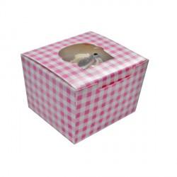 Boite 1 cup cake carton