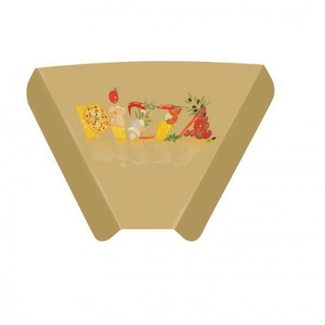 Triangle pizza carton