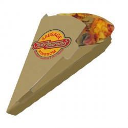 Boite triangle pizza carton